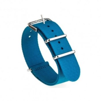 Bracelet NATO bleu largeur 20 mm