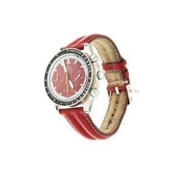 OMEGA, bracelet veau double jonc collection Michael Schumacher largeur 18 mm