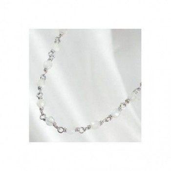 BACCARAT, collier argent massif  perles de cristal couleur aigue marine