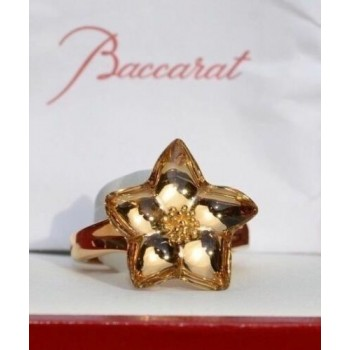 BACCARAT, Bague or jaune 750 /°° collection BLOSSOM