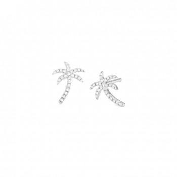 Boucles d'oreilles NOUSARA or blanc 750 /°° diamants 0,18 carat