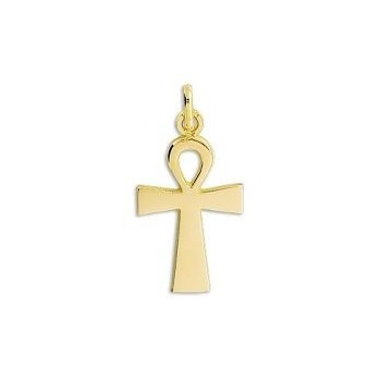 Croix égyptienne  KHEOPS or jaune 750 /°° dimensions 22 mm x 14 mm