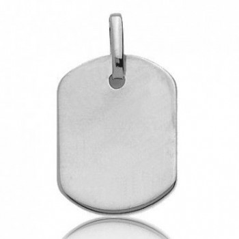 Pendentif ANGELO or blanc  750 /°° dimensions 20 mm x 15 mm