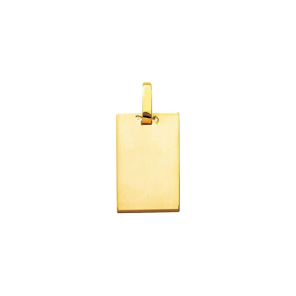 Pendentif PEGASE or jaune 750 /°° dimensions 24 mm x 15 mm
