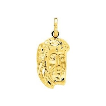 Pendentif  CHRIST or jaune 750 /°° dimensions 31 mm x 15 mm