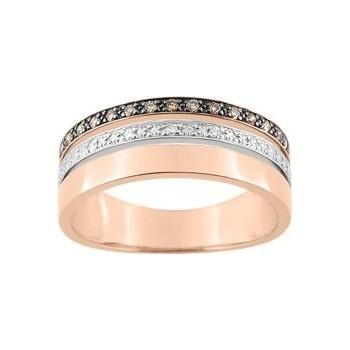 Bague ASTREE 3 ors 750 /°° diamants 0,13 carat