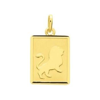 Zodiaque LION or jaune 750 /°° rectangulaire
