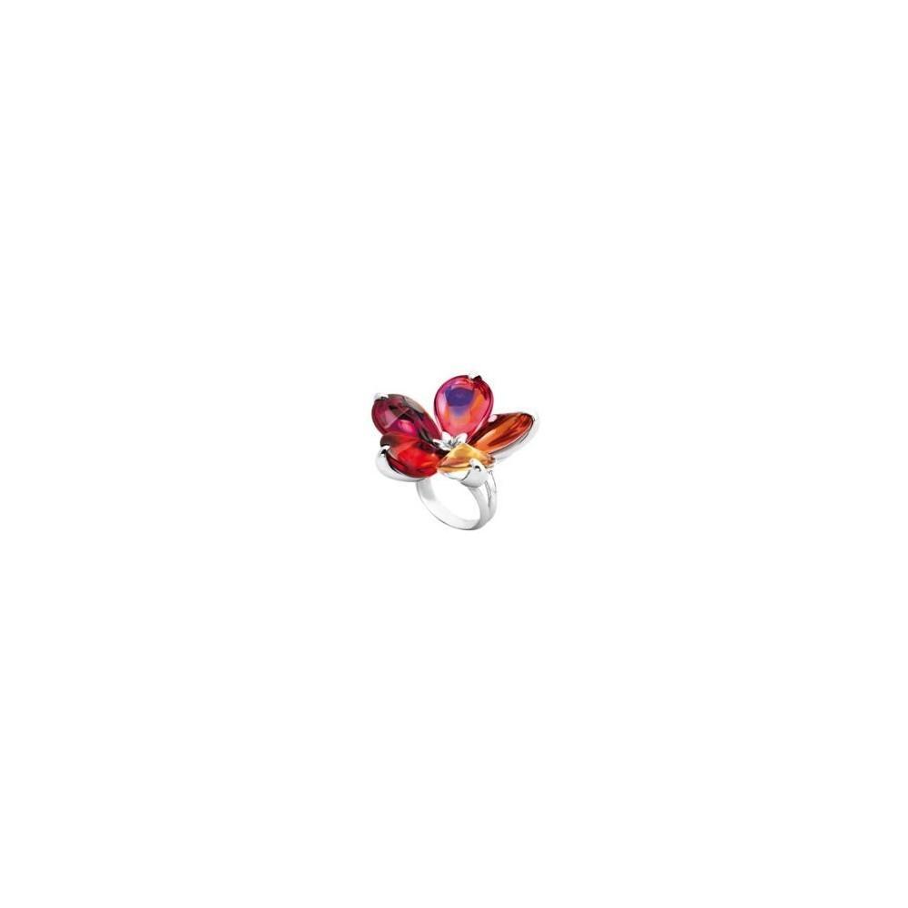 BACCARAT, Bague collection Fleur de Psydélic argent