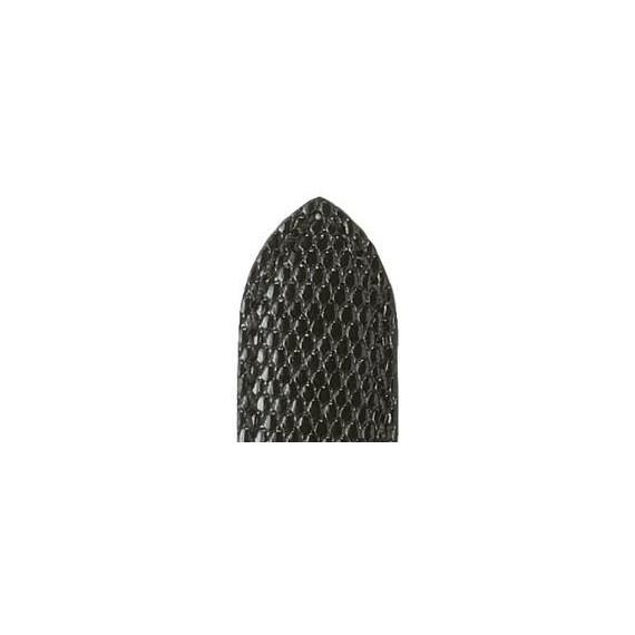 Bracelet ZRC DELPHES lézard noir brillantt 20/18 mm