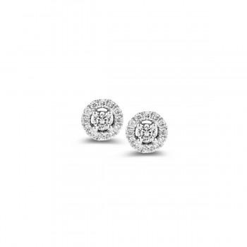 Boucles d'oreilles diamants ONE MORE 0.19 carat Collection SALINA ref 93FD24A