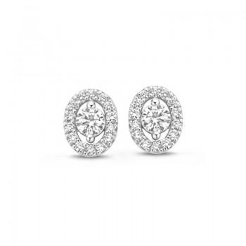 Boucles d'oreilles diamants ONE MORE  0.35 carat  collection SALINA