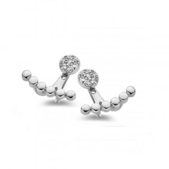 Boucles d'oreilles diamants ONE MORE  0.14 carat collection ISCHIA ref 057700A