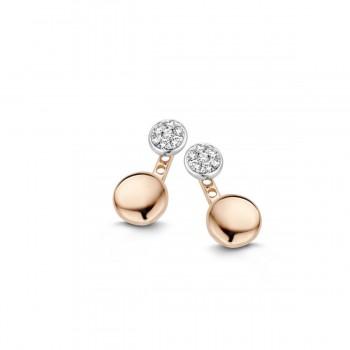 Boucles d'oreilles diamants ONE MORE  0.11 carat collection VULSINI réf 057534A