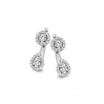 Boucles d'oreilles  diamants ONE MORE  0.68 carat collection SALINA réf 055982A
