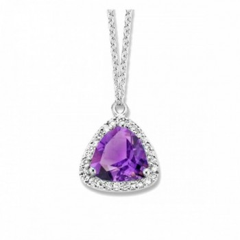 Collier améthyste diamants ONE MORE collection  ETNA ref 055856