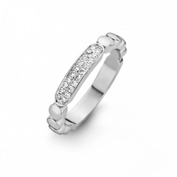 Bague diamants ONE MORE 0.16 carat collection ISCHIA réf 053964A