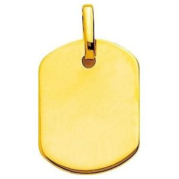 Pendentif JASON or jaune 750 /°° dimensions 20 mm x 15 mm