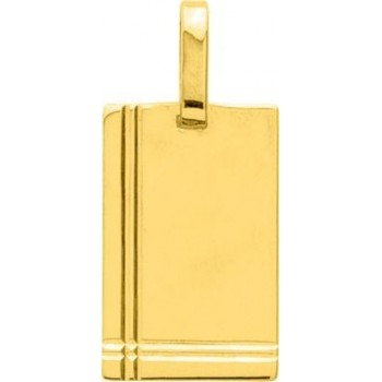 Pendentif GREGORIOS  or jaune 750 /°° dimensions 24 mm x 15 mm