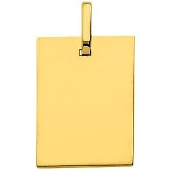 Pendentif MENELAS or jaune 750 /°° dimensions 19 mm x 15 mm