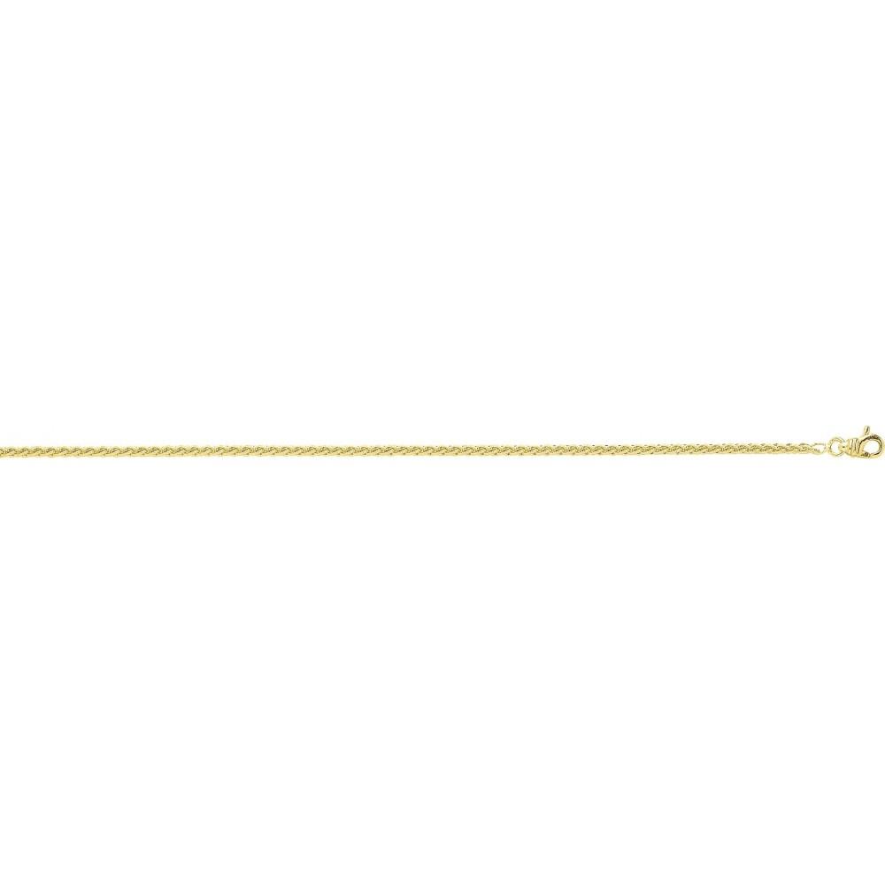 Bracelet SPIGA or jaune 750 /°° diamètre 2 mm