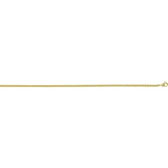 Bracelet SPIGA orjaune 750 /°° diamètre 2,4 mm