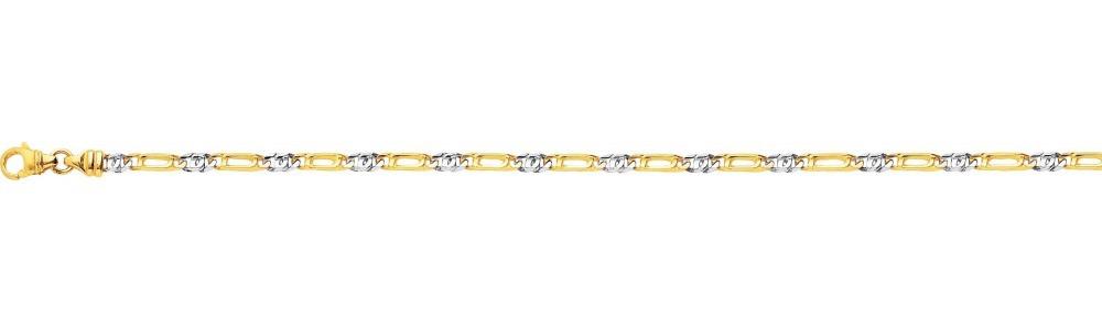 bracelet or 18 carats homme